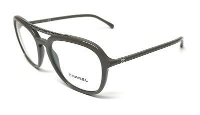 67661298a3b1 New Chanel 3368 1613 Green Vendome Eyeglasses Authentic Italy Frame 53-18