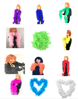 Luxury Feather Boa Dance Burlesque Fancy Dress Party Boa 2M Thick 12 Colors HOT