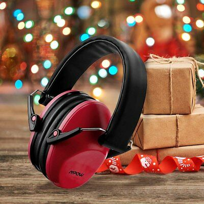 MPOW Safety Ear Muffs Professional Noise Reduction Hearing Protection Xmas Gift