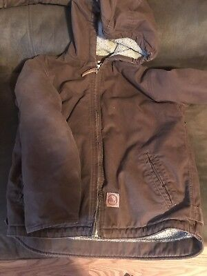Berne Hooded Jacket Youth Size Large