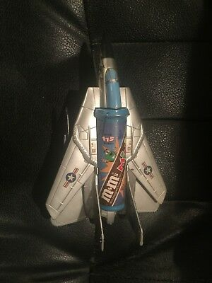 M&m's Fighter Jet And Helicopter Mini M&m's Dispenser--New