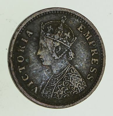 1887 India 1/12 Anna - Historic World Coin *694