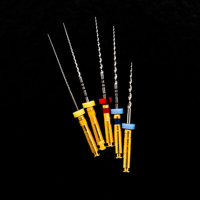 5pcs EASYINSMILE Dental Endo Files Niti Rotary Tips for Root Canal Treatment