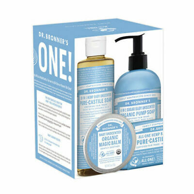 New Dr. Bronner's All-One Baby Essentials Pack