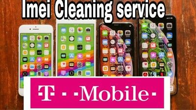 instant T-MOBILE BAD ESN IMEI CLEANING (LOST-STOLEN ONLY) Srvice Send imei first
