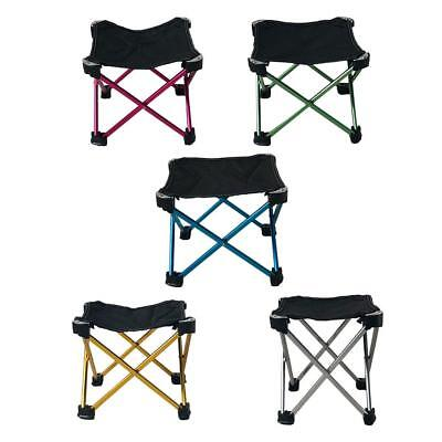 Aluminum Folding Chair Outdoor Camping Portable Stool Fishing Collapsible Chair