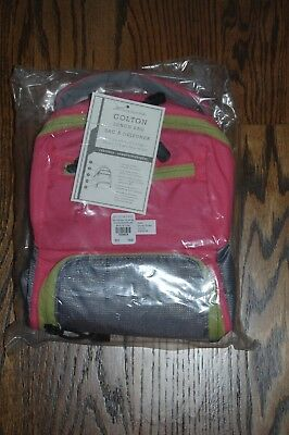 New Pottery Barn Kids Colton Bright Pink Lunch Bag Girls'