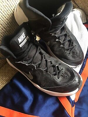 296831e9ae85 NIKE ZOOM WITHOUT a Doubt Basketball Men s Shoes Size 11 Deep Pewter ...