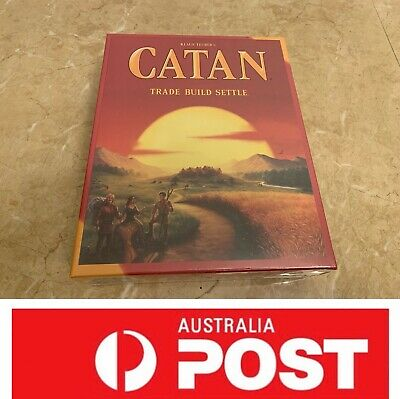 Settlers Of Catan Board Game, 5th Edition, AU Stock