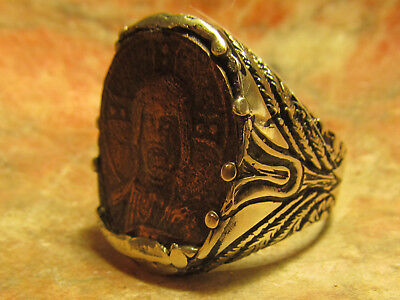 "Authentic Ancient Roman Byzantine ""King of Kings""  Mens ring!"
