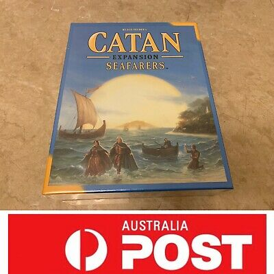 Settlers Of Catan Expansion Game, Seafarers Game, AU Stock