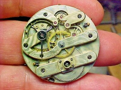 Swiss 36MM Nickle Keywind Keyset Movement
