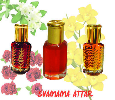 Shamama Al Attar Ittar 100% Pure concentrated Perfume Oil 10 ml From India