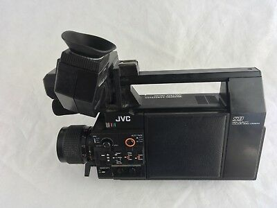 Vintage JVC Video Camera Color GX-S9e Untested Free Post