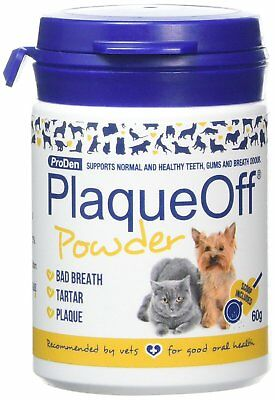 Proden Plaque Off For Cats and Dogs Natural Gum Health Cat Dog Hygiene Pets 60g