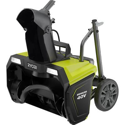 Ryobi RY40840 20 in. 40-Volt Brushless Cordless Electric Snow Blower