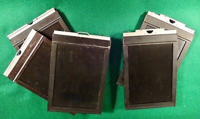 Five ( 5 ) 5x7  film holders, all real clean