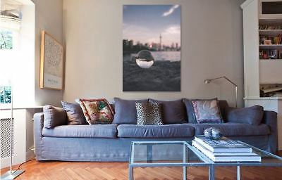 PERSPECTIVE ART PHOTOGRAPHY COLORFUL picture Canvas home wall choose your size