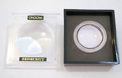 ONZOW Zero Dust BLACK Stylus Cleaner + Magnifying Lid (Turntable Needle) NEW