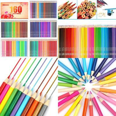 Soucolor 160 Colored Pencils Set Artist Drawing Coloring Pencils For Adult Color
