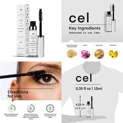 Cel Md Brow Lash Boosting Serum. Ginseng Stem Cell, Biotin And Castor Oil Eyeb