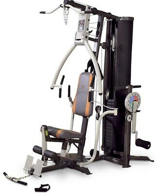 Marcy MP3500 Platinum Home Multi Gym with Adjustable Chest Press & Thigh Trainer