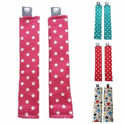 Pushchair Stroller Strap Covers for Bugaboo, M&P, Mamas & Papas, Stokke in Stars