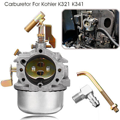 Carburetor Carb Replace For Kohler K321 K341 for 14HP 16HP Engine Motor Metal