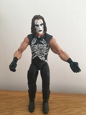 WWE Mattel figure action ELITE DEFINING MOMENTS STING TOY wrestling tna Wcw