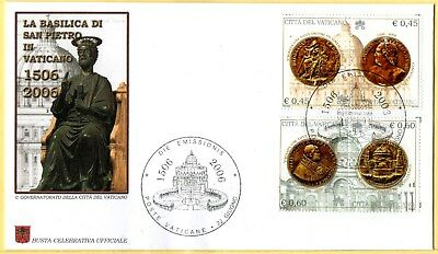 Vatican City 2006 - First Day Cover