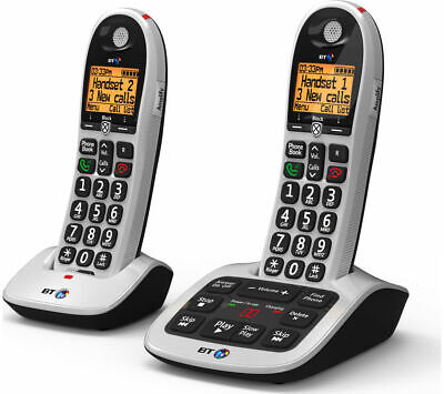 BT 4600 Cordless Phone with Answering Machine - Twin Handsets - Currys
