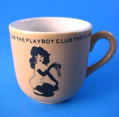 Vintage 1961 Playboy Club Small Coffee Cup with Femlin Logo Mayer China