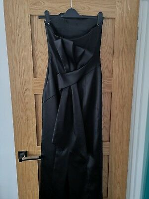 Karen millen Evening Dress Origami Collection Size 12 Prom Party