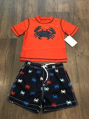 NWT Baby Boy CARTERS Crab Swimsuit 24 Months
