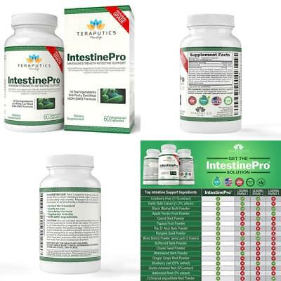Intestinepro 10-Day Intestine Support For Humans With Non-Gmo Wormwood 1485Mg