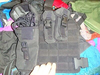 special forces issue vega holster plaform and pouches belt drop fitting excellen
