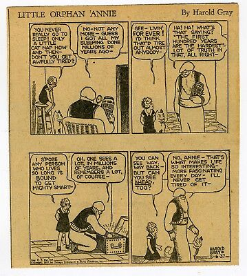 1937 Complete Little Orphan Annie Newspaper Daily Strips Includes Mr. Am