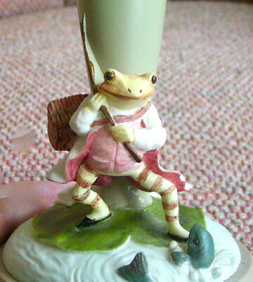 Beatrix Potter The Tale of Jeremy Fisher Cookie Stamp Press Excellent