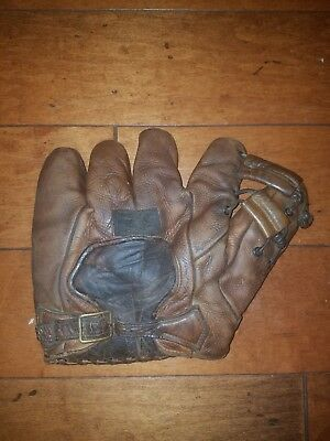 1930s Antique Draper Maynard Marvin Owens Baseball Glove
