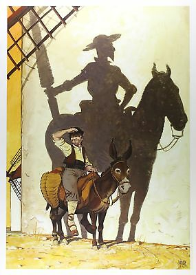 Affiche Offset  Don Quijote 2 Norma Editorial