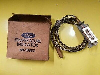 Temperature gauge 1935 1936 Ford Flathead nos new old stock 68-10883 temp sender