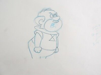 The Jetsons Mr Spacely Original Production Layout Drawing Animation