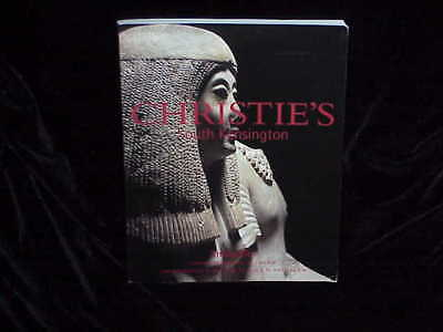 CHRISTIES ANTIQUITIES, SOUTH KENSINGTON, 5/14/02 & 5/15/02 Sale Code 9380 HJ-7