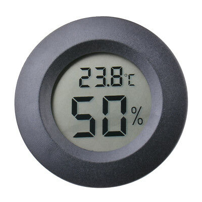Mini Digital LCD Temperature Luftfeuchtigkeit Wet Thermometer Hygrometer MA1085