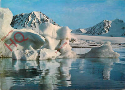 Picture Postcard--Svalbard, An Ice-Floe In The Kingsbay, Iceberg