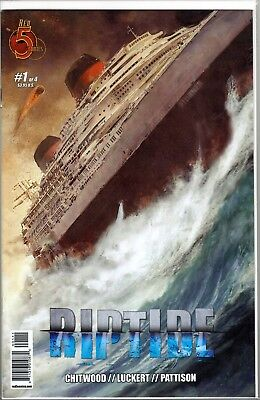 RIPTIDE #1 and #2 RED 5 Comics FREE SHIPPING Low Print Run 1ST PRINT