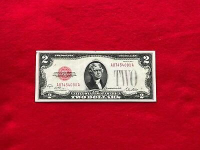 FR-1502  1928 A Series $2 Red Seal US Legal Tender Note *Extremely Fine*