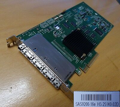 LSI HBA SAS9200-16e LSI Logic Host Bus Adapter 16 SAS/SATA Channel PCIexpress x8