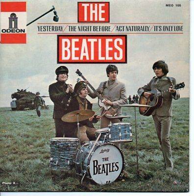 The Beatles ++Ep++Yesterday++Frankreich++Meo 105+++