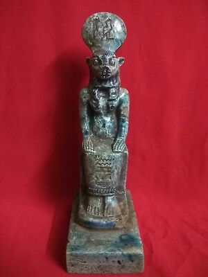 Ancient Egyptian Antiquities Statue of God Sekhmet
